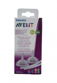Canudo curvado refil Avent Philips