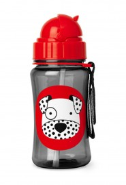 Garrafinha Zoo Straw Bottle Skip Hop - Dalmata