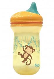 Copo Monkey 350 ml Com Bico em Silicone 6M+ Buba