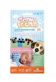 Termo Friends Termômetro Adesivo Figuras Sortidas 4 Unidades