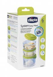 Recipientes para a papa - System Easy Meal - Chicco