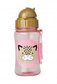 Garrafinha Zoo Straw Bottle Skip Hop - Leopard