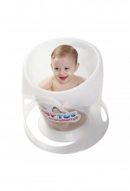 Banheira para Bebê Evolution Branco - Baby Tub Banheira para Bebê Evolution  - Baby Tub